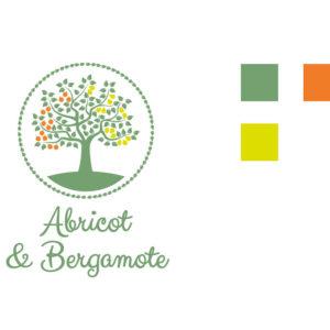 Création du logo d'Abricot et Bergamote