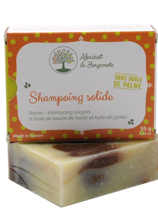 Création d'un packaging pour un shampoing solide bio