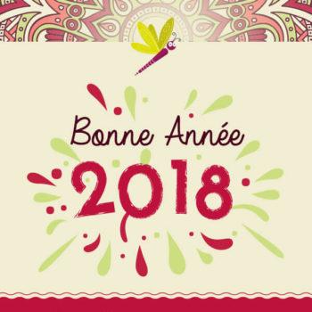 Création carte de voeux 2018, Graphiste Angers