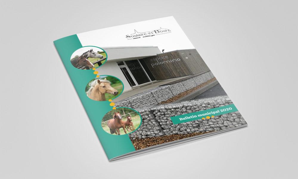 Création d'un bulletin municipal 2020 : couverture
