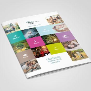 Création d'un catalogue produits de 44 pages