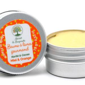 Création d'une étiquette produit pour la gamme Abricot et Bergamote
