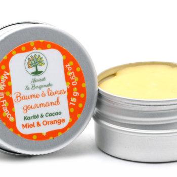 Création d'étiquettes produits : étiquette pour un baume à lèvre
