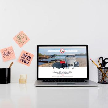 Création d'un site internet en Maine-et-Loire, pour une association