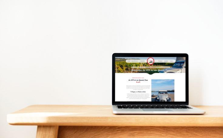 Création d'un site internet pour une association