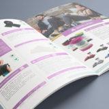 Création d'un catalogue 48 pages pour des produits naturels : intérieur