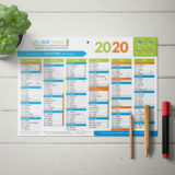 Création d'un calendrier A4