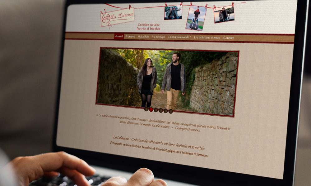Webdesign d'un site internet