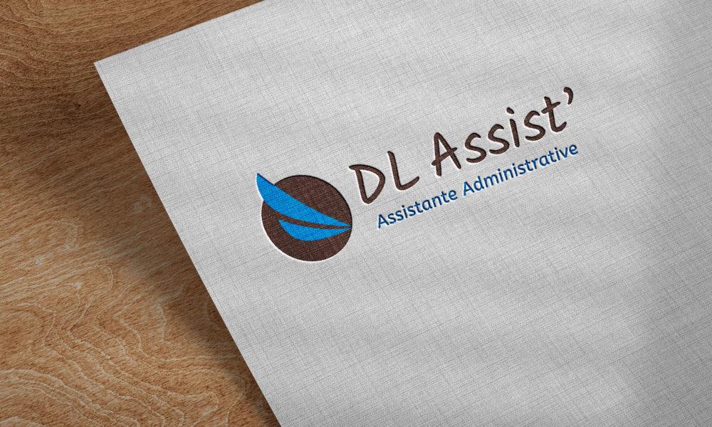 Création d'un logo pour une assistante administrative en Maine-et-Loire