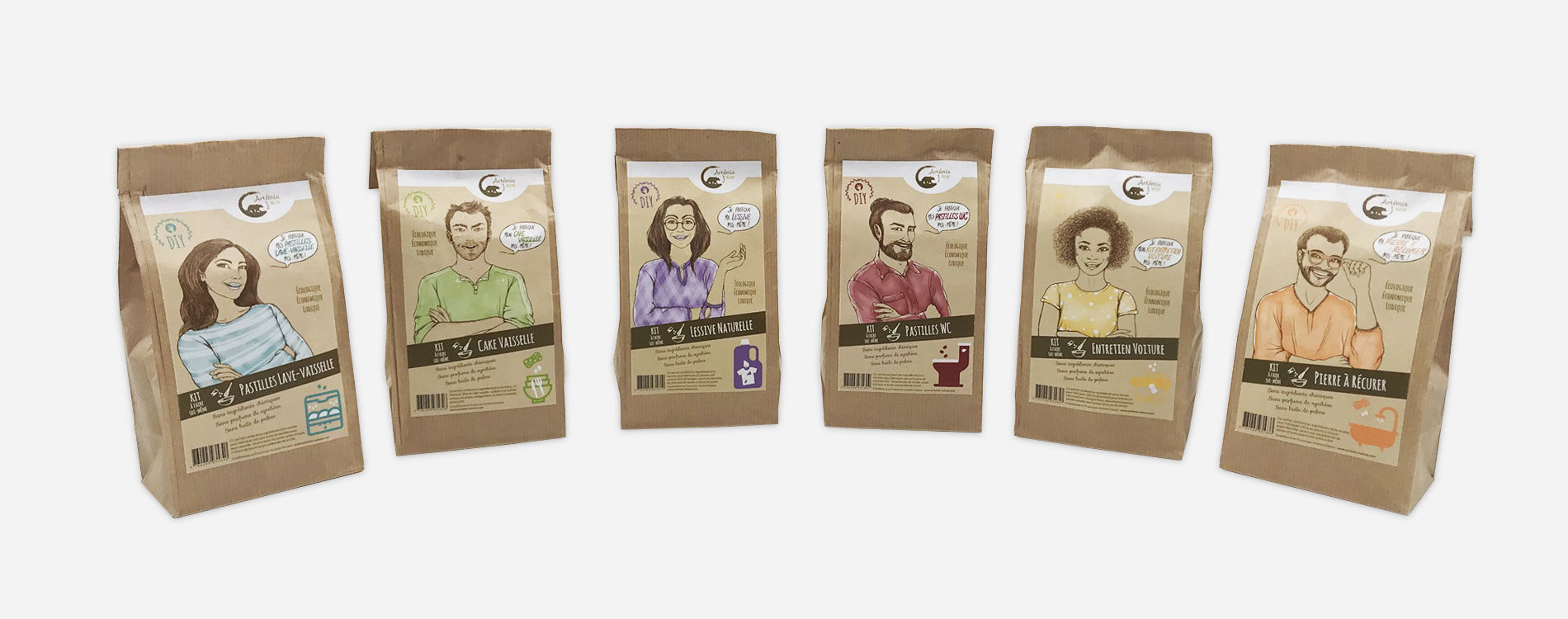 Création packaging Angers