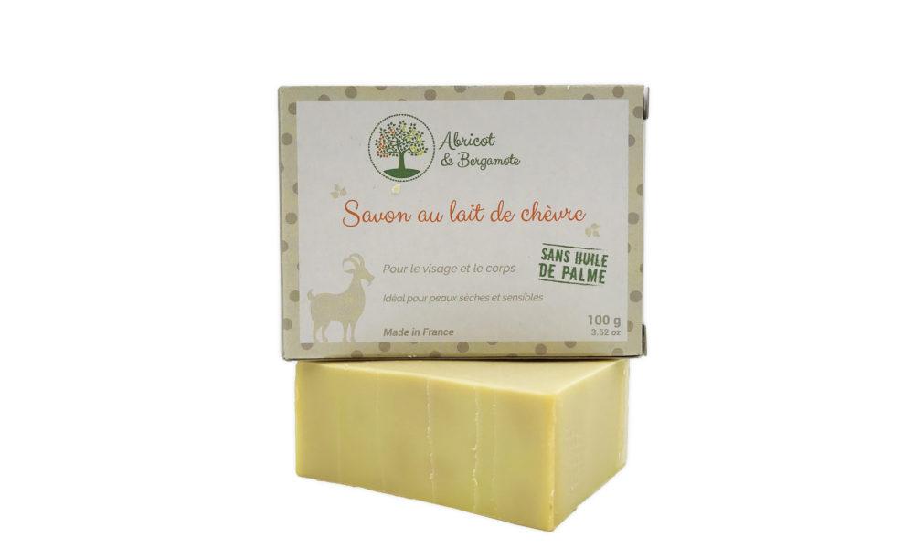 Création d'un packaging pour un savon au lait de chèvre
