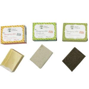 Création de packagings pour des shampoings solides