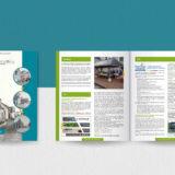 Création d'un bulletin municipal 2021 de 40 pages : Couverture et doube page