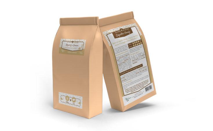 Réalisation d'une étiquette produit pour un répulsif à limaces