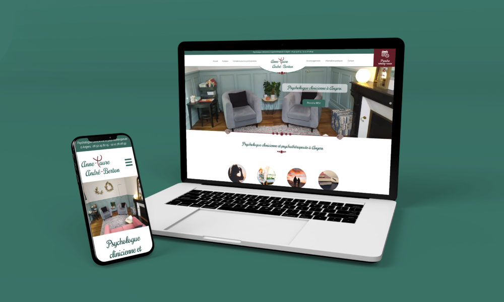 Création d'un site internet pour une psychologue