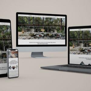 Réalisation d'un site vitrine pour une agence de communication : site responsive