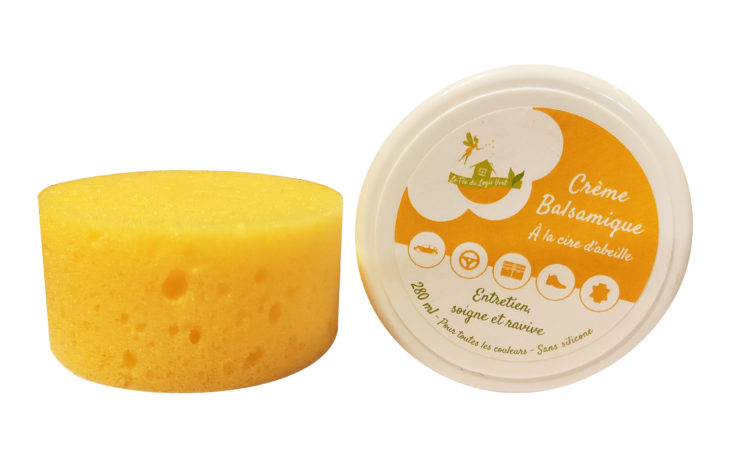 Création d'une étiquette pour une crème balsamique