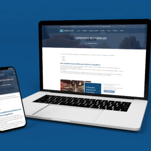 Conception d'un site web pour des courtiers en assurances - Graphiste Angers