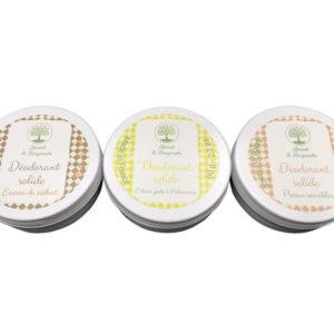Conception d'étiquettes pour une gamme de déodorants solides