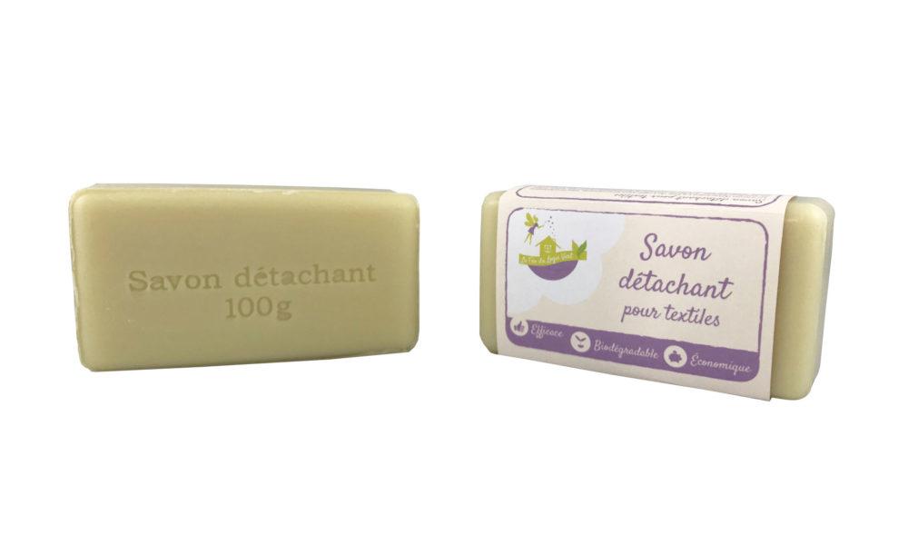 Conception d'Une étiquette pour un savon détachant
